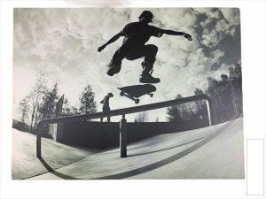 Canvasdoek skater